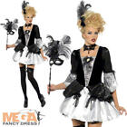 Sexy Baroque Fantasy Halloween Ladies Fancy Dress Womens Masquerade Costume 8-14