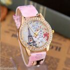 Womens Mens New Fashion Watch With Rhinestone Quartz Wrist Watch