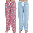 Womens Ladies Fleece Warm Lounge wear Lounge pants Pyjama Bottoms Pjs Pants
