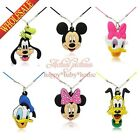Novelty 1pcs Mickey Minnie cartoon pendant Accessories Kids necklace party gifts