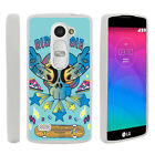 For LG Leon | Tribute 2 | Risio Slim Fitted Flexible TPU Case Swamp Camouflage