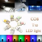 2/10x T10 194 501 W5W COB 8 SMD Silicone LED Car Interior Side Number Tail Light