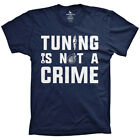 Tuning is not a Crime shirt auto turbocharger tshirts car JDM tees