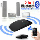 2-in-1 Wireless Bluetooth Audio Transmitter + Receiver A2DP Stereo Music Adapter