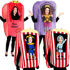 Circus Booth Adults Fancy Dress Carnival Fun Mens Ladies Womens Novelty Costumes