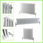 Traditional Column Radiators Horizontal Cast Iron Style Central Heating Rads UK