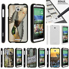 For HTC Desire 510 Case Hard Snap On 2 Piece Slim Shell Hunting Outdoor