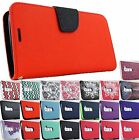 for LG Treasure L51AL L52VL Escape 3 K373 Flip Jacket Wallet Pouch Case +PryTool