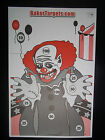 "CREEPY CLOWN SHOOTING TARGETS 23"" x 35"" Gun Pistol Rifle Bow Paintball Pellet"
