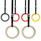 Yes4All Portable Gymnastics Olympic Gym Rings Strength Training w Straps