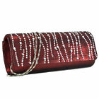 Rhinestone Décor Evening Clutch