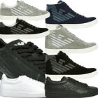 EA7 EMPORIO ARMANI SHOES - MENS BOYS SMART CASUAL ARMANI TRAINERS 100% ORIGINAL