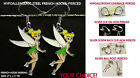 Fairy Earrings Charm *OPTIONS* Angel Hypoallergenic Pierced OR Clip On