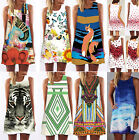 Sexy Womens Lady Sleeveless Party Evening Cocktail Beach Casual Mini Short Dress
