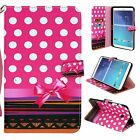 """Folio PU Leather Tablet Case Stand Cover For Samsung Galaxy Tab E 8.0"""" SM-T377"""