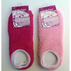 Socks Cozy Soft Thick Winter Ladies Women Slipper Socks Size 9-11 Pink NEW