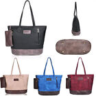 Fashion Women Leather Shoulder Bags Tote PU Leather Handbags Big Ladies Purse