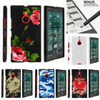 For  Nokia Lumia 1520 Case Hard Snap On 2 Piece Slim Shell Red Roses