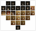 LED Nordic 3D Wooden Photo Frames Table Lamp Creative Birthday USB Night Light