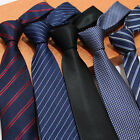 22 Color Factory 7cm Men Classic Neck Ties Stripes Professional Skinny Necktie
