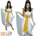 Cleopatra Ladies Fancy Dress Egyptian Womens Historical Adults Costume Outfit