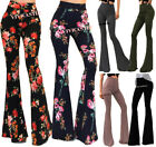 VIVICASTLE USA MADE HIGH WAIST HIPPIE BOHEMIAN FLARED BELL BOTTOM PANTS S M L