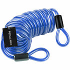 PEDALPRO BLUE STEEL DOUBLE LOOP EXTENSION CABLE/CHAIN BIKE LOCK BICYCLE/CYCLE