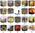 Lampshade Ideal To Match Hunting Scene Cushions Hunting Scene Wallpaper Wall Art