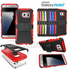 Heavy Duty Shockproof Hard Back Case Cover Kick Stand For Samsung Galaxy Note 7