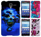For Kyocera Hydro Shore Hard Protector Case Snap On Phone Cover + Screen Guard