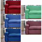 Plain Dyed Cotton Polyester 1 to 2 Seater OR 2 to 3 Seater Sofa Couch Cover