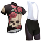 1 Black Mens Cycling Jersey Bicycle Bib Shorts Fashion New Design Mesh Cool Wear