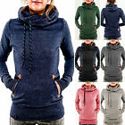 New Women Long Sleeve Hoodie Sweatshirt Jumper Sweater Pullover Tops Coat Winter