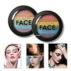 2 Colors Eye Shadow Makeup Cosmetic Shimmer Matte Eyeshadow Palette Set EN24H