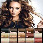 "14"" Human Hair Full Head Clip-In Hair Extensions All Colours"