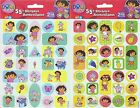 Dora the Explorer and Friends 55+ Stickers School Crafts Party Favors