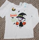 New! Girls Children's Place Halloween Shirt (Witch; White) - Size 9-12 mo, 4T