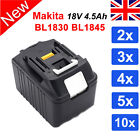 New 18V 4.5Ah Battery Lithium LXT For Makita BL1830 BL1840 BL1845 Replace UK