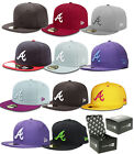 NEW ERA 59FIFTY FITTED CAP ATLANTA BRAVES A MLB AUTHENTIC 5950 HAT-100% original