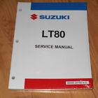 SUZUKI LT80 QUAD SPORT,KAWASAKI KFX80 REPAIR,SERVICE MANUAL BOOK 87-06