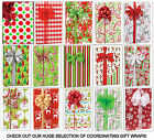 Christmas Holiday Gift Wrap Wrapping Paper 16 Foot Roll - CHOICE 30+ Brand New