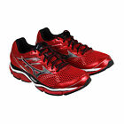 Mizuno Wave Enigma 5 Mens Red Mesh Athletic Lace Up Running Shoes
