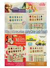 *TOWNLEY (1) 65pc Nail Art DECORATIVE Sticker Set FOR KIDS New *YOU CHOOSE* 2/2