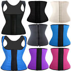 Latex Rubber 3 Style Body Cincher Shaper Wasit Trainer Tummy Top Shapewear LMU