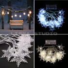 New 2.1m Snowflakes LED Christmas Lights String Party Christmas Tree Decorations