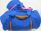 CANVAS HOLDALL IN BLUE/PINK & BLUE/TAN STYLE - 72500