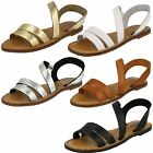 LEATHER COLLECTION AVAIL IN GOLD, BLACK, SILVER. WHITE & TAN SANDAL STYLE F0936