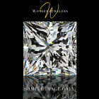0.41 Ct Princess Cut Loose Diamond GIA Certified G/VVS1 + Free Ring (2173374396)