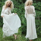 Women Chiffon Boho Summer Dresses Long Maxi Evening Party Cocktail Wedding Gown