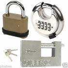 4 Digit Combination Padlocks 50mm Zinc Alloy 65mm Disc Heavy Duty 90mm Pad Lock